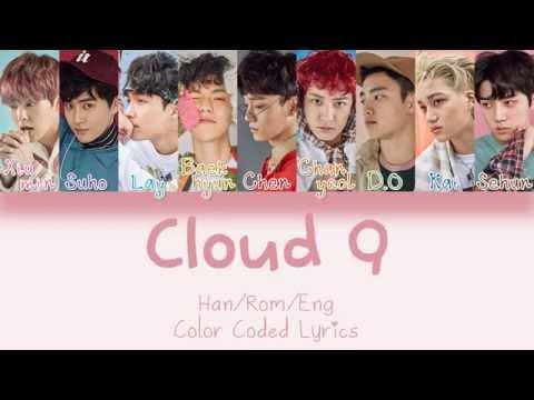 EXO - Cloud 9 (Korean Ver.) [HAN|ROM|ENG Color Coded Lyrics]