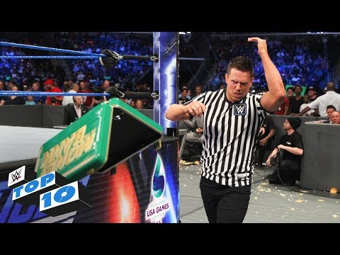 Top 10 SmackDown LIVE moments: WWE Top 10, June 12, 2018 thumbnail