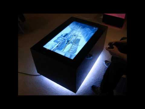 Video Table - LED Coffee Table
