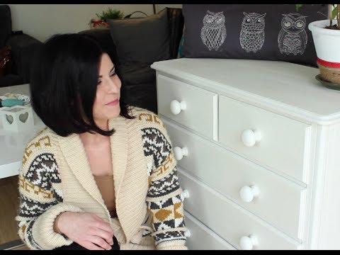 Jak pomalować lakierowane meble na biało
