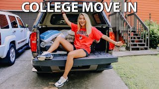 COLLEGE MOVE IN DAY 2019