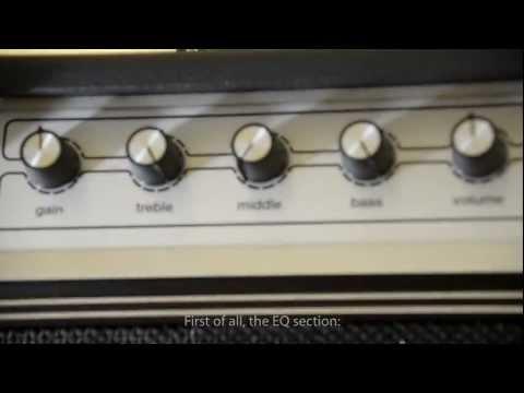 Ampeg GVT15H + GVT 112E - demo & soundcheck (ENG subtitles)