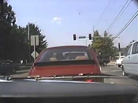 (1988) Drive Down Antioch/New Video Camera Practice - Overland Park, Kansas