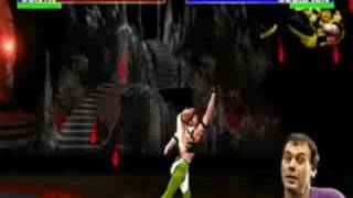 Ultimate Mortal Kombat arcade 3 Flawless Victory TAS run with Scorpion