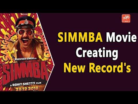 Simmba Movie Creating New Record's    Ranveer Singh   Sara Ali Khan   Karan Johar   YOYO Times
