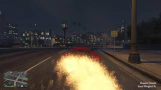 GTA V MOST INSAIN CAR FLAME
