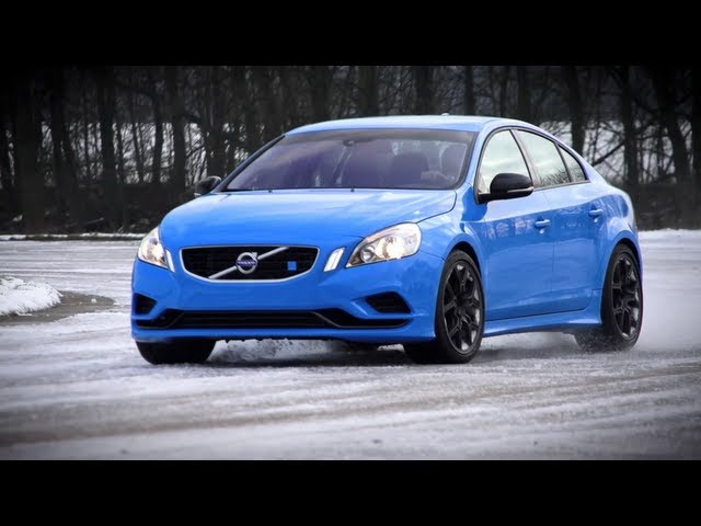 Snowdrift: Volvo S60 Polestar (with a bit of C63 ... - YouTube