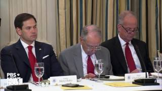 President Trump speaks at GOP health care luncheon, urges action