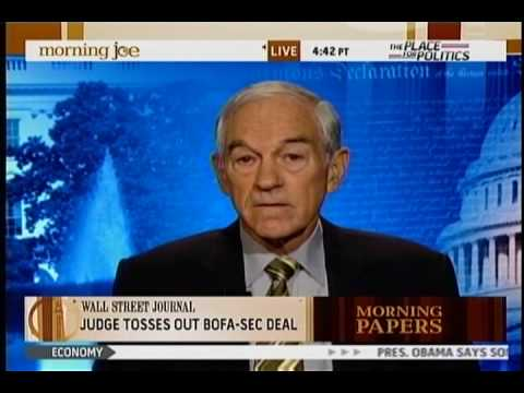 Ron Paul on Morning Joe, 9/15/09