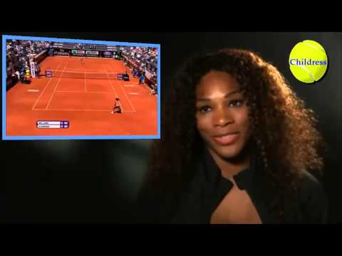 Serena Williams Shot of The Day vs.Victoria Azarenka-Rome Final 2013;Plus Interview after winning