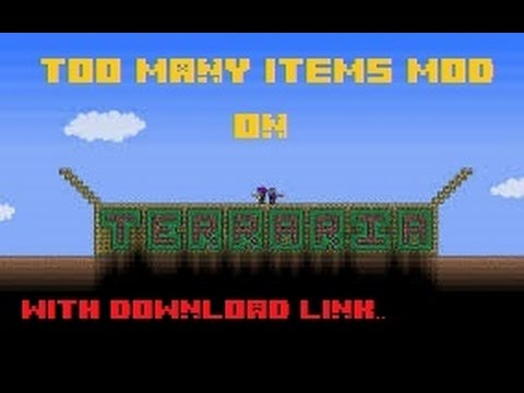 Terraria [Xbox 1.2] - Too Many Items Mod!!