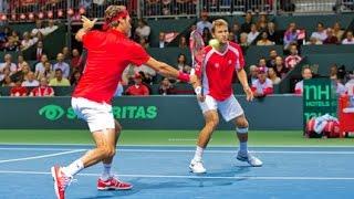 """Federer en Chiudinelli: """"Zij maakten het verschil op het einde."""""""