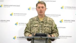 Col. Oleksandr Motuzyanyk, Ministry of Defense of Ukraine spokesperson. UCMC 11.06.2017