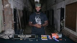 Malcolm Jenkins Zombie Apocalypse Survival Tips