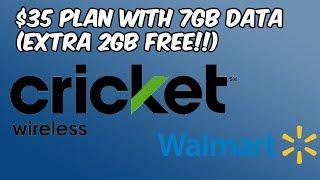 Walmart Cricket Wireless Offering 7GB Data For $35 (Extra 2GB Free) HD