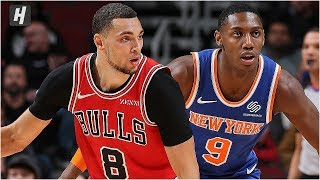 New York Knicks vs Chicago Bulls - Full Game Highlights | November 12, 2019 | 2019-20 NBA Season