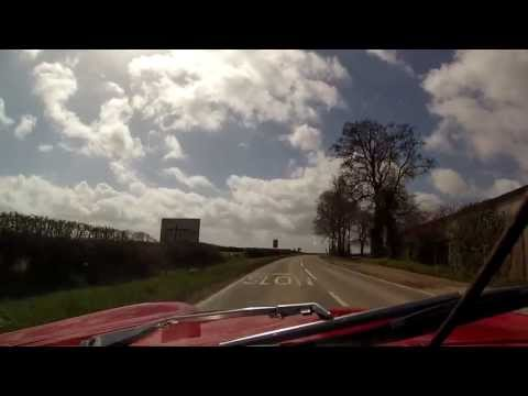MGB Quick Drive - GoPro Hero 3 Silver WITH Zalman ZM1 external mic (TEST 1)