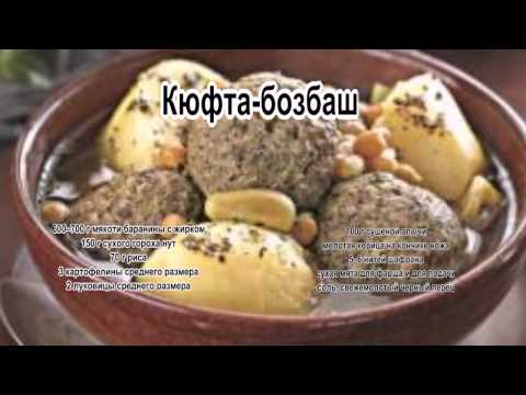 Как вкусно приготовить баранину.Кюфта Бозбаш