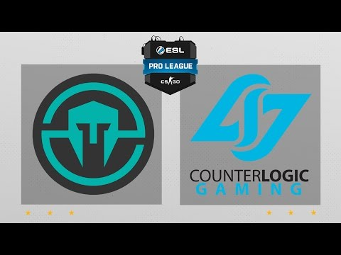 CS:GO - Immortals vs. CLG [Overpass] Map 2 - ESL Pro League Season 5 - NA Matchday 21