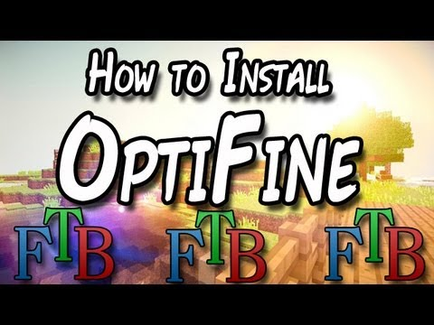 How to install OptiFine in Feed the beast (FTB) - FTB Ultimate - Direwolf20 - Mindcrack - Yogcraft