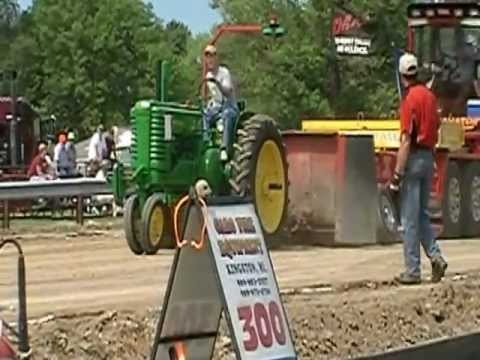 Antique tractor pull, Port Hope Mi. 2012