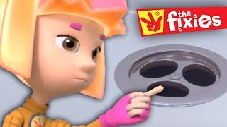 The Fixies | Cartoons for Children ★ The Drain - Plus More Fixies Full Episodes  ★ Cartoons For Kids