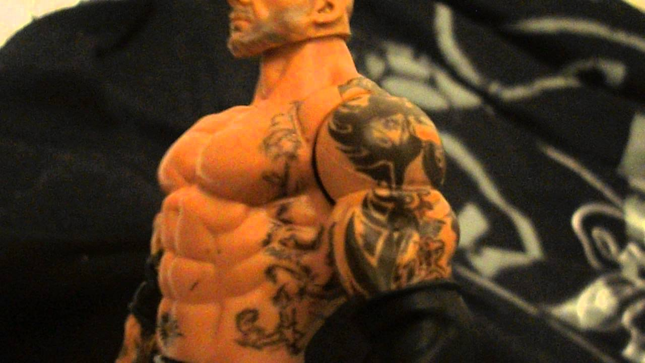 Batista 2014 Tattoos WWE Mattel Cust...
