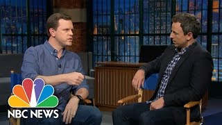 Seth Myers And Willie Geist Talk Millennials And Voting   NBC News