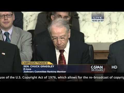Chuck Grassley Defends the Bill of Rights from Harry Reid