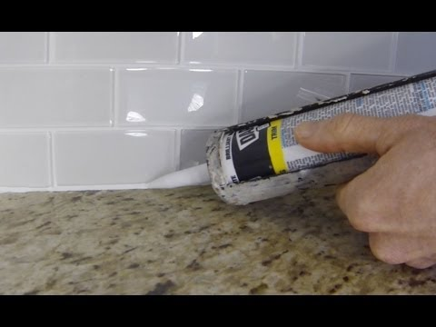 How to remove backsplash tile