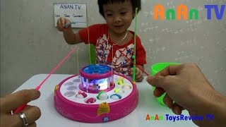 Let's Go Fishing Game Toy ❤ Anan ToysReview TV ❤