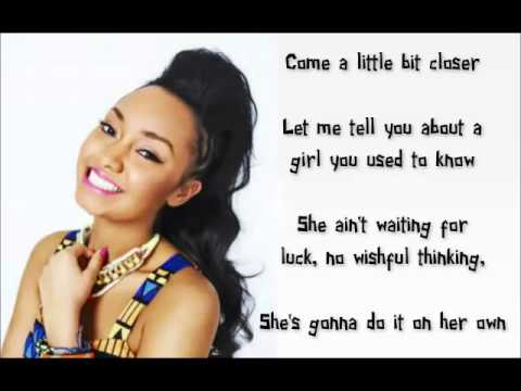 Little Mix - Stand Down (Lyrics and Pictures)
