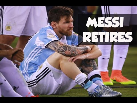 LIONEL MESSI RETIRES FROM INTERNATIONAL FOOTBALL - IS THIS REALLY THE END?