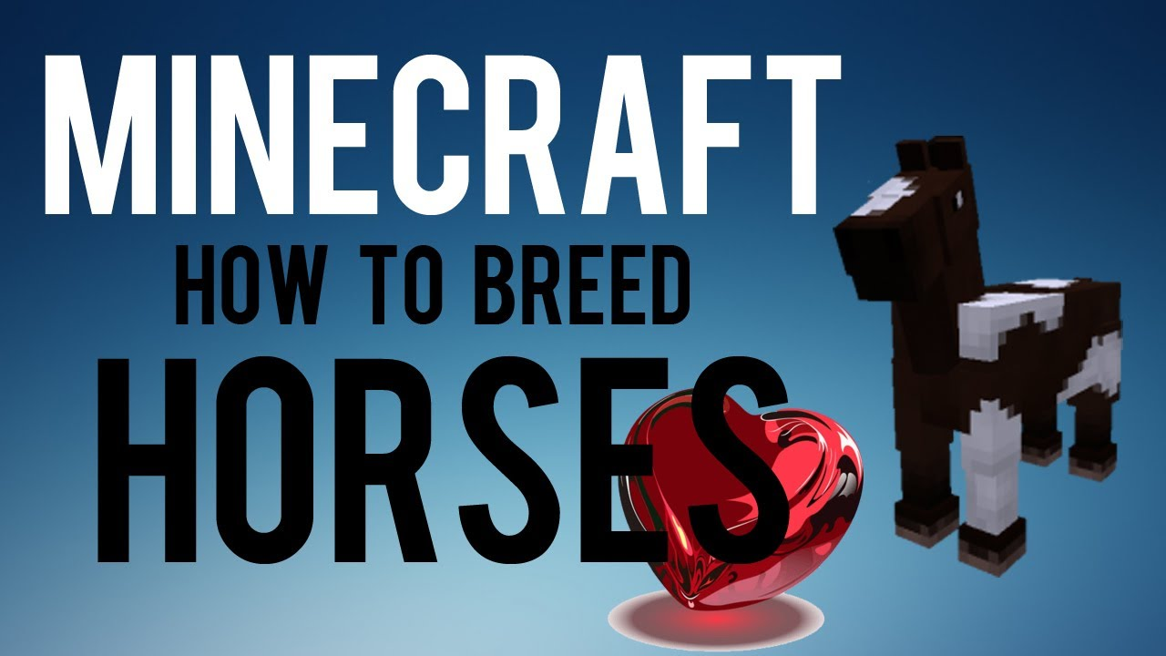 how to catch horses in minecraft