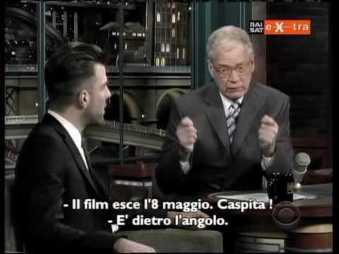 Zachary Quinto al David Letterman Show - Sottotitolato ITA