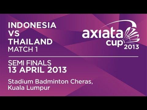 Semi Finals - WS - Lindaweni Fanetri (INA) vs Ratchanok Intanon (THA) - Axiata Cup 2013