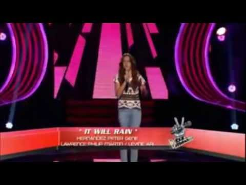 giovana taboada - It will rain audiciones la voz mexico 2013