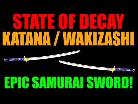 State Of Decay Katana / Wakizashi   Amazing Edged Weapon   Samurai Sword   It Exists! (HD)