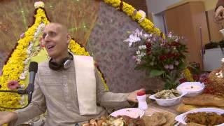 2012.11.03. Vyasa Puja -6- Prasadam HG Sankarshan Das Adhikari Kaunas Lithuania
