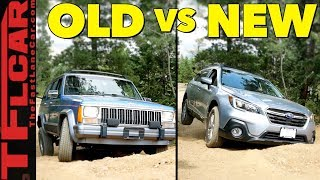 Only One Makes It! 2018 Subaru Outback vs Jeep Cherokee vs Gold Mine Hill