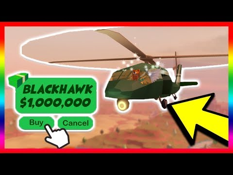 BUYING THE NEW MILITARY HELICOPTER! *$1 MILLION DOLLARS!* (Roblox Jailbreak New Update)