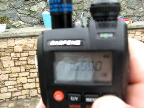 145.950 MHz - Reception in Aosta of ARISSat-1/KEDR satellite