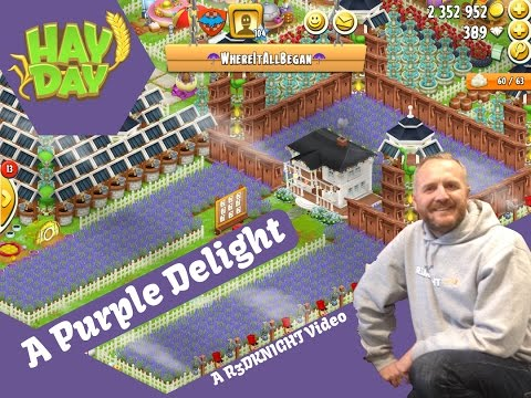 Hay Day - Farm Review Level 104 - A Purple Delight