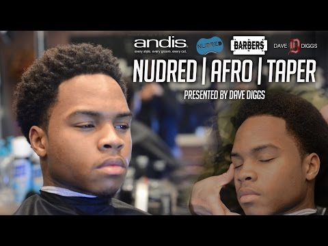 HOW TO: Nudred Afro Taper   Men's Haircut Tutorial   HD - 1080