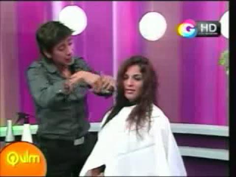 Que Vivan Las Mujeres: Corte para cabello ondulado