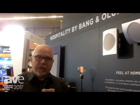 ISE 2017: Bang & Olfusen Exhibits How To Integrate Products In a Hotel Room