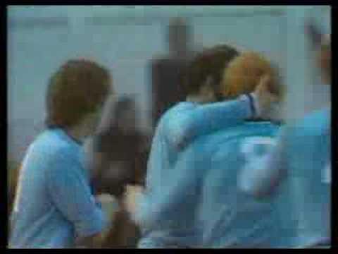 Ernie Hunt free kick
