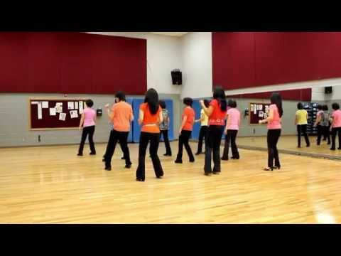 Angel In Blue Jeans - Line Dance (dance & Teach In English & 中文) video