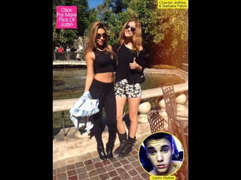 Justin Bieber Exes Barbara Palvin & Chantel Jeffries Hang Out —