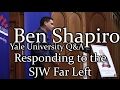 Ben Shapiro Responds to the SJW Far Left - Yale Speech Closing Statements and Q&A